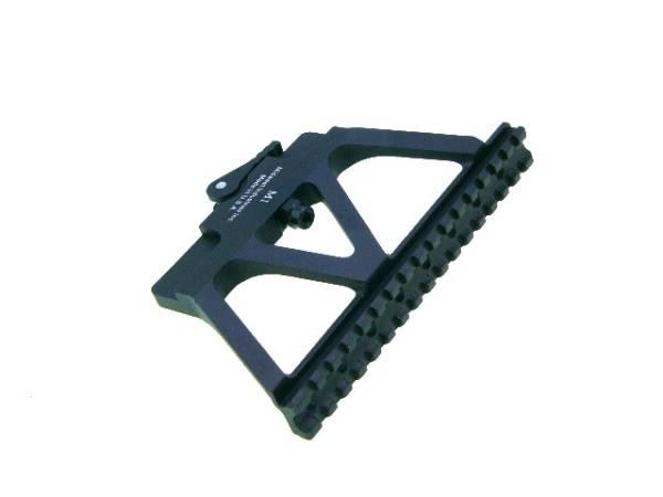 Midwest Industries型AK用サイドロックマウントベース黒刻印新品東京マルイAKS74N次世代AK102対応_画像1