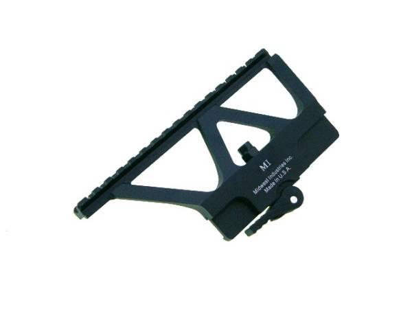 Midwest Industries型AK用サイドロックマウントベース黒刻印新品東京マルイAKS74N次世代AK102対応_画像2