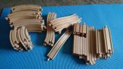BRIO 木製おもちゃ、レール、大量電車セット