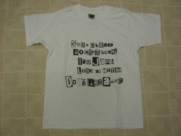 SADS   Tシャツ      黒夢  MAD  清春