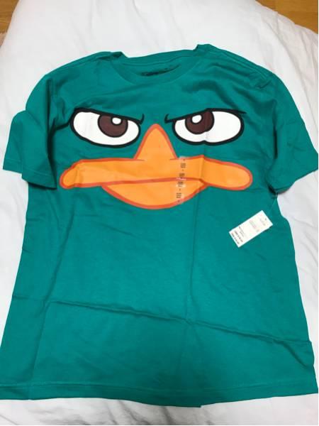 USAディズニーストア エージェントP ペリー Tシャツ 未使用タグ付 メンズSサイズ フィニアスとファーブ ディズニーグッズの画像