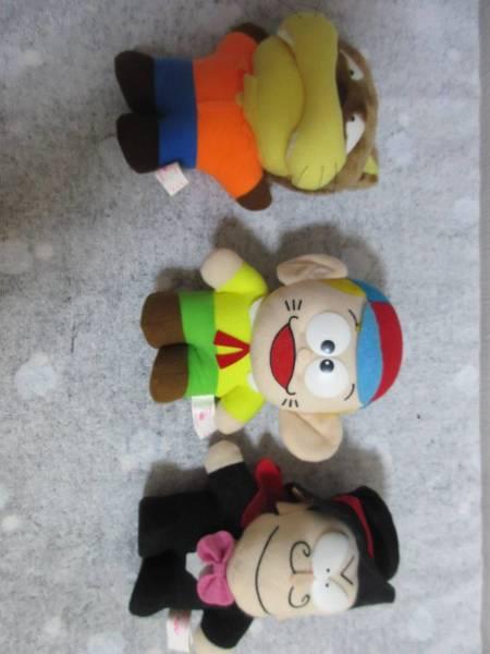 「怪物くん」 3体セット ぬいぐるみ 藤子不二雄A人形マスコット非売品大野嵐 グッズの画像