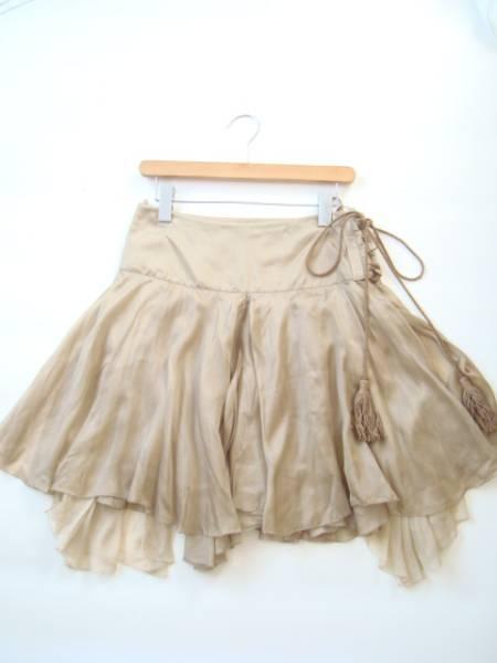 RALPH LAUREN ボリュームシルクスカート size2 ラルフローレン_画像1