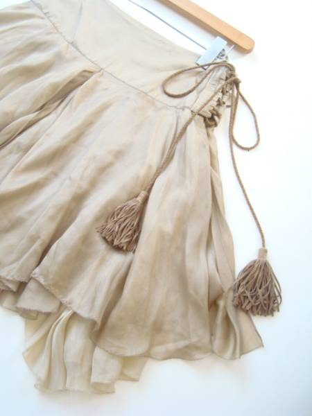 RALPH LAUREN ボリュームシルクスカート size2 ラルフローレン_画像2