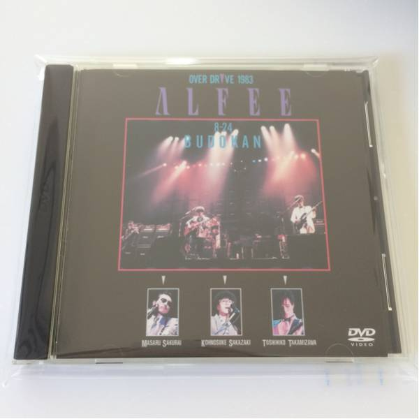 DVD★ALFEE OVER DRIVE BUDOKAN 1983.8.24 アルフィー 武道館 高見沢 坂崎 桜井