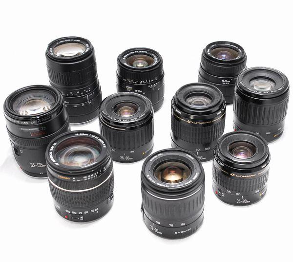 【豪華セット】Canon キヤノン EF 28-90mm TAMRON 28-200mm 純正レンズ ほか 全10本