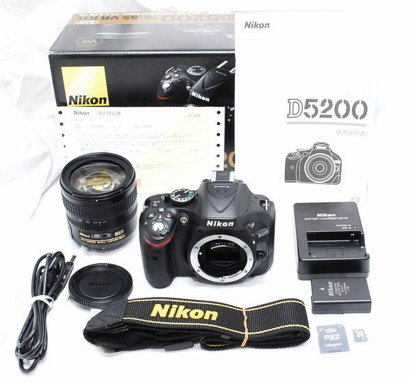【超美品・メーカー保証書付き豪華セット】Nikon ニコン D5200 AF-S NIKKOR 18-70mm