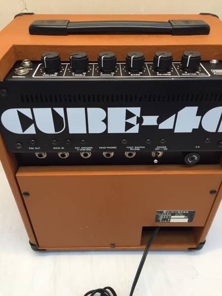 現状 S6624送料無料 ローランド ギターアンプ CUBE-40