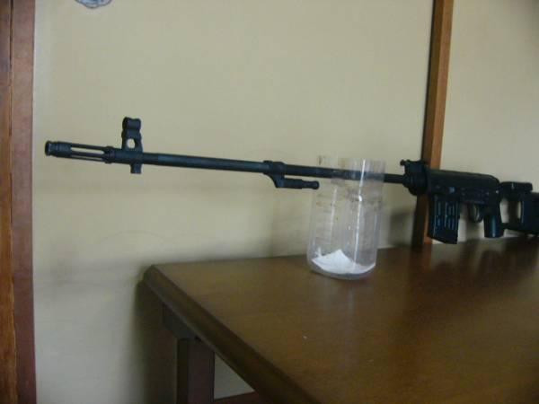 ●即決●超珍品●狙撃銃 射的銃 エアーライフル トラグノフ ジャンク品●