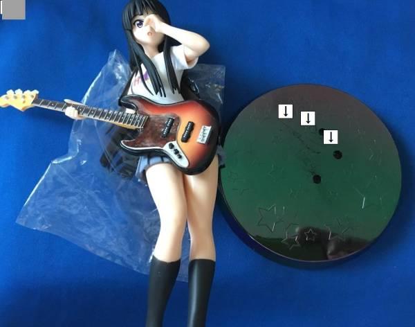 けいおん !! ◎ セガ PMフィギュア 秋山澪 Lefty Rock'n Roll ◎ プレミアム HTT _画像3