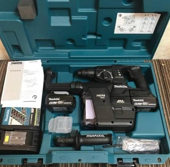 新品 マキタ HR244DGXVB ブラックモデル 充電式ハンマドリル 集じんシステム付き 18V-6.0Ah 即決