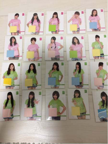 AKB48 オフィシャルトレーディングカード スペシャルレア(ジャージカード) 44種 ライブ・総選挙グッズの画像