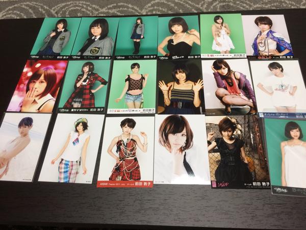AKB48 前田敦子 生写真28枚 ライブ・総選挙グッズの画像