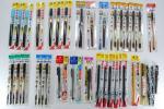 新品 未開封 大量 筆ペン ぺんてる ゼブラ まとめ 35本セット 毛筆 デットストック YA194
