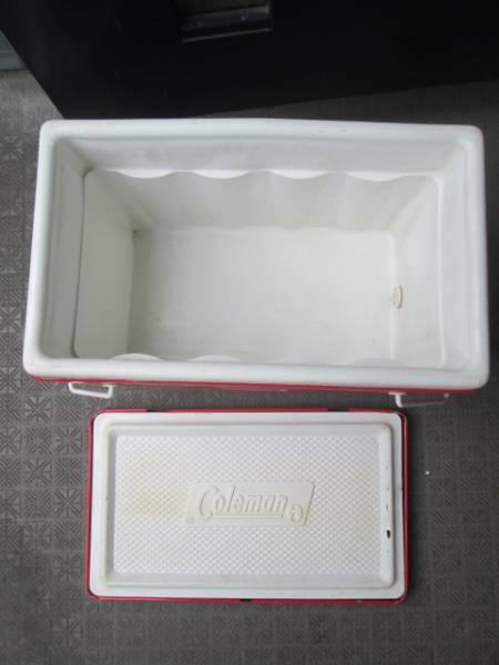 貴重!60's~70's COLEMAN ヴィンテージ USA 赤 コールマン クーラーボックス/70'sジャグキャンプアメリカアンティーク西海岸ガレージ_画像2