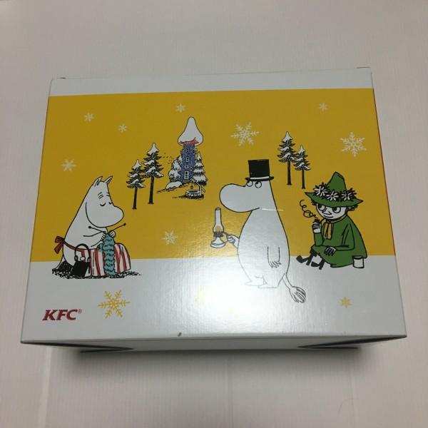 新品 ケンタッキー フライドチキン KFC 非売品 ムーミン スープカップ スープボウル コンプリート ノベルティ 4点セット 新品 コンサートグッズの画像