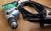 美品 ハイパワー 高耐久 HITACHI 日立 ドリル DW30YA 木工用 電動 工具 確認済み