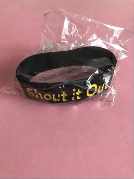 Shout it Out 「青年の主張」タワレコ購入特典 ラバーバンド