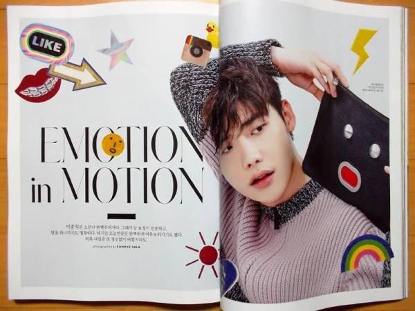 [イ・ジョンソク] 韓国雑誌切り抜き10P/2016年