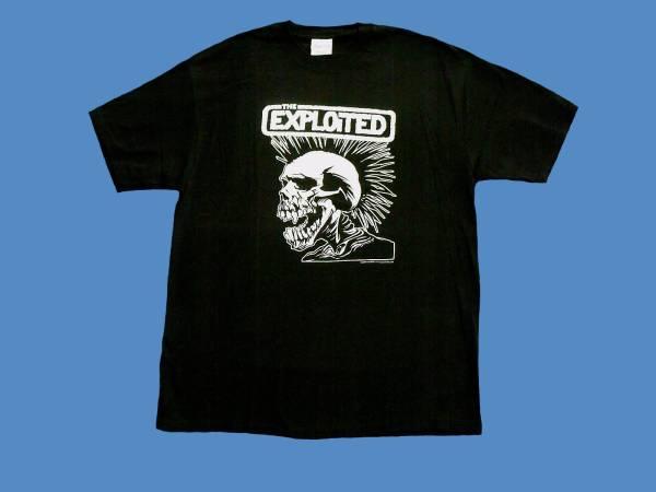 THE EXPLOITED(エクスプロイテッド)Tシャツ  新品 L ブラック デッドストック  レア物