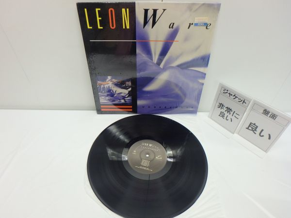 【LPレコード】Leon Ware Undercover /LP 80017_画像2