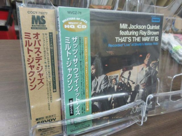 ジャf◆紙ジャケ CD 20bitほか◆限定盤 ミルト・ジャクソン(Milt Jackson)/2枚セット/SAVOY,VICTOR_画像2