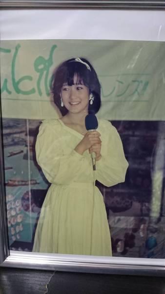 岡田有希子さんの四つ切りサイズ写真