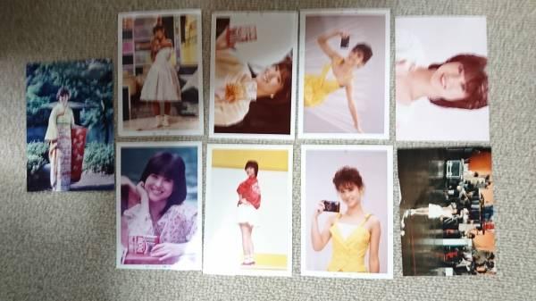 松田聖子さんの当時の写真9枚セット
