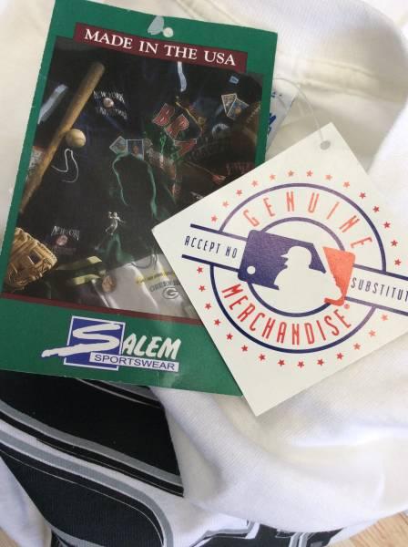 新品未着用デッドストック品 MLB 大リーグ メジャーリーグベースボールTシャツ シカゴ ホワイトソックス L 米国製 セーラム グッズの画像