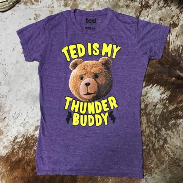 《希少☆》映画『TED』テッド・イズ・マイ・サンダー・バディ Tシャツ【美品☆送料無料】 グッズの画像