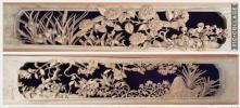 井波彫刻 日展作家 祥雲作 四季の花 超特上彫り