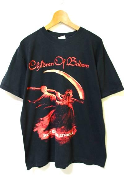 children of bodom Tシャツ チルドレンオブボドム ブラック anvil L ARCHENEMY/DARK TRANQUILLITY/soilwork/Slipknot