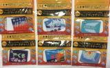 コンビニ限定エビスビール日本の鉄道ヘッドマークチャーム マイスター:6種類