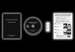 簡単インストール テレビキャンセラー メルセデス ベンツ X204 GLKクラス 2011y/07-2016y/02 GLK350 4マチック 4WD Mercedes Benz ART AMG_画像2
