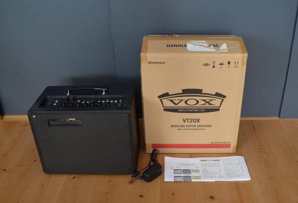 VOX モデリング・ギターアンプ VT20X 中古美品