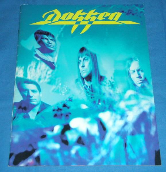 ☆ツアーパンフレット●DOKKEN/ドッケン「JAPAN TOUR 1995」●