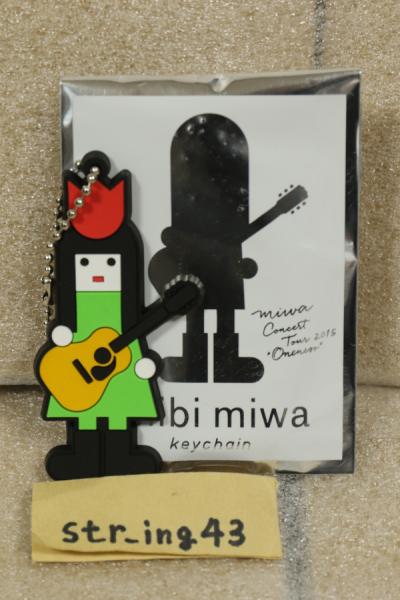 未使用 miwa oncert tour 2015 ONENESS トレーディング PVCキーホルダー 長崎 ver. グッズ