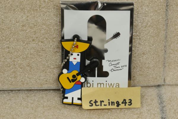 未使用 miwa oncert tour 2015 ONENESS トレーディング PVCキーホルダー 新潟 ver. グッズ
