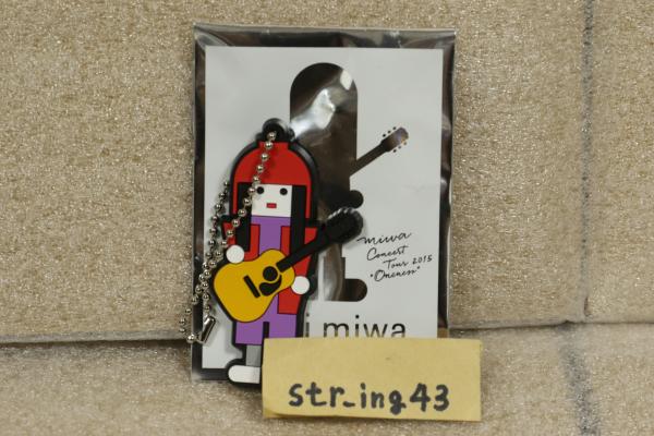 未使用 miwa oncert tour 2015 ONENESS トレーディング PVCキーホルダー 福岡 ver. グッズ