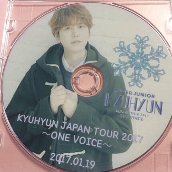 スーパージュニアKYUHYUH JAPANツアーONE VOICE DVD(o^^o)