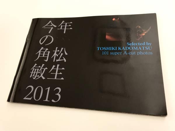 今年の角松敏生 2013 フォトブック (パンフレット 写真集)