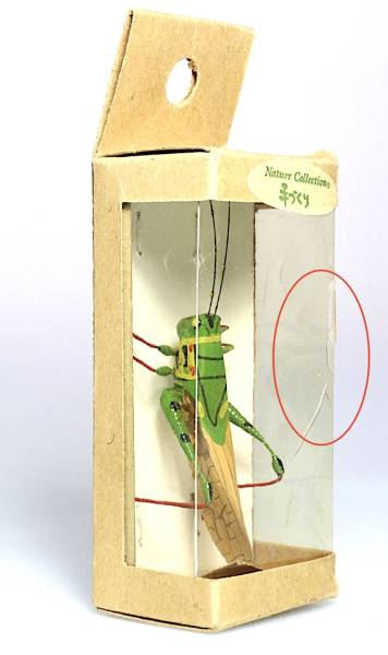 昆虫模型☆トノサマバッタ(手づくり)_画像2