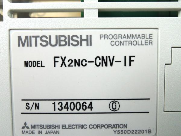 未使用 三菱 FX2NC-CNV-IF シーケンサ 2個 セット Y2510248_画像3