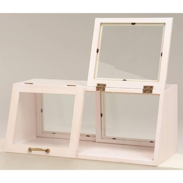 カウンター上ガラスケース(ウォッシュホワイト) MUD-6067WS_画像2