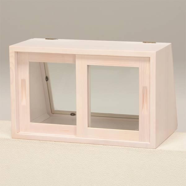 2/15 カウンター上ガラスケース(ウォッシュホワイト) MUD-6065WS_画像3