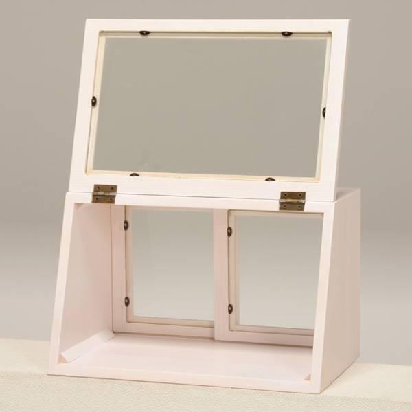 2/15 カウンター上ガラスケース(ウォッシュホワイト) MUD-6065WS_画像2