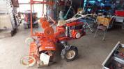 シバウラ 大型耕運機 KM700 全面マルチ成型機付き 実働