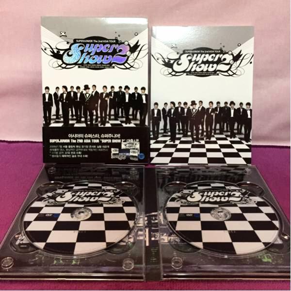 【DVD】SUPERJUNIOR The 2nd ASIA TOUR Super Show 2 ライブグッズの画像