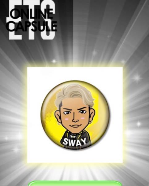 DOBERMAN INFINITY SWAY 缶バッジ3周年 アニバ衣装Ver DI トラステオンライン