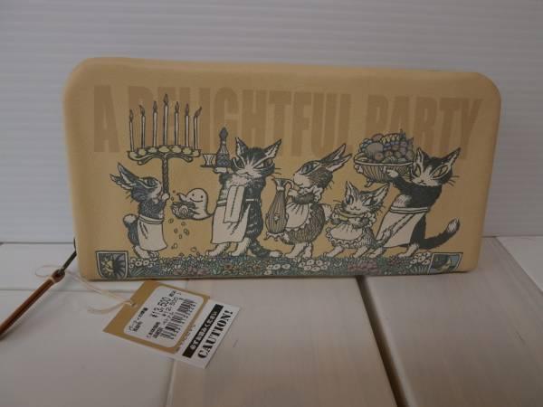 わちふぃーるど ダヤン パーティの準備長財布 猫_画像1